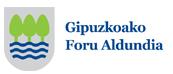 Gipuzkoako Foru Aldundia logoa